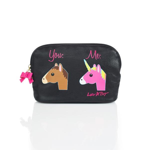 Betsey Johnson Horse Or Unicorn Clutch