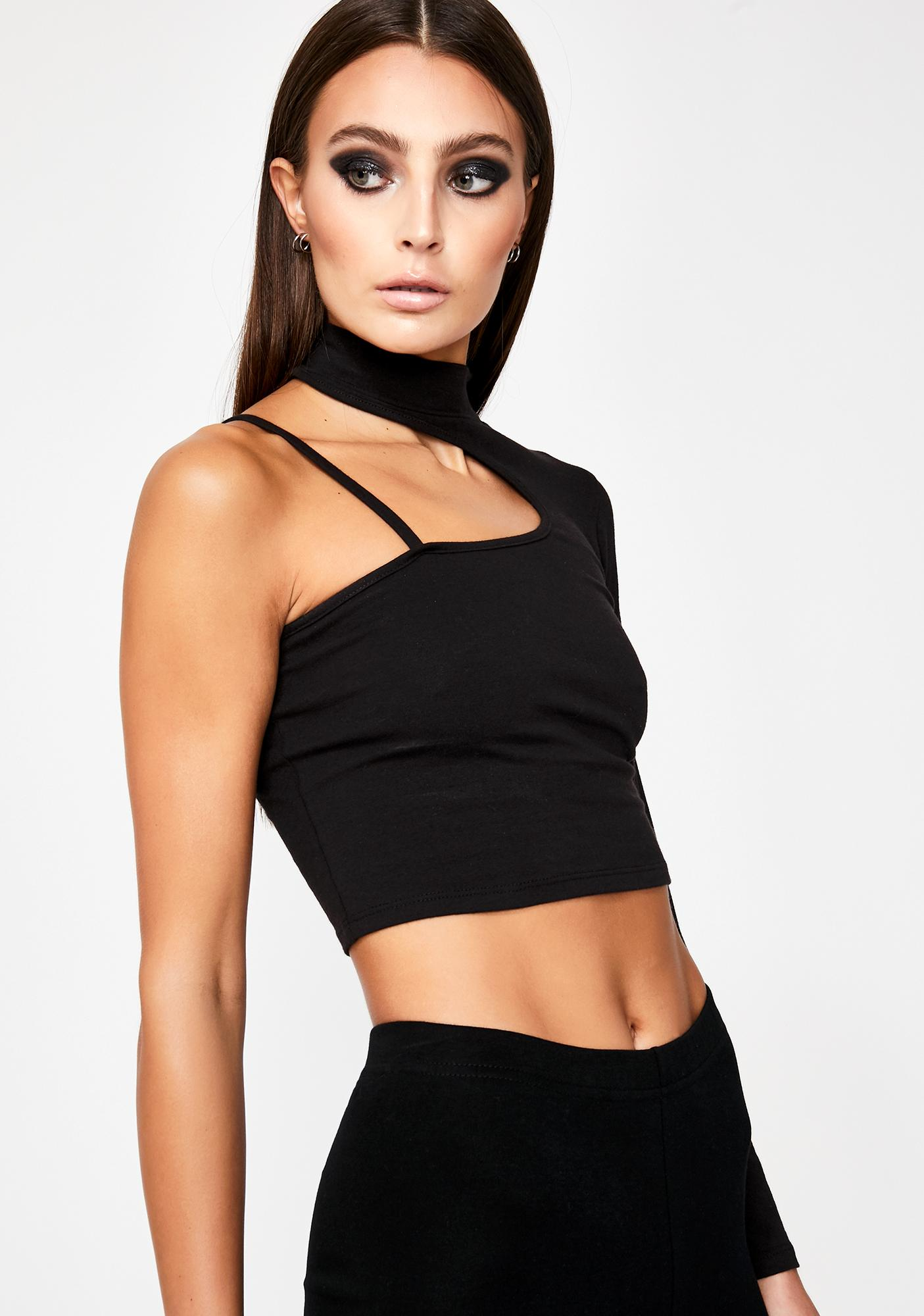 Alert The Masses Crop Top