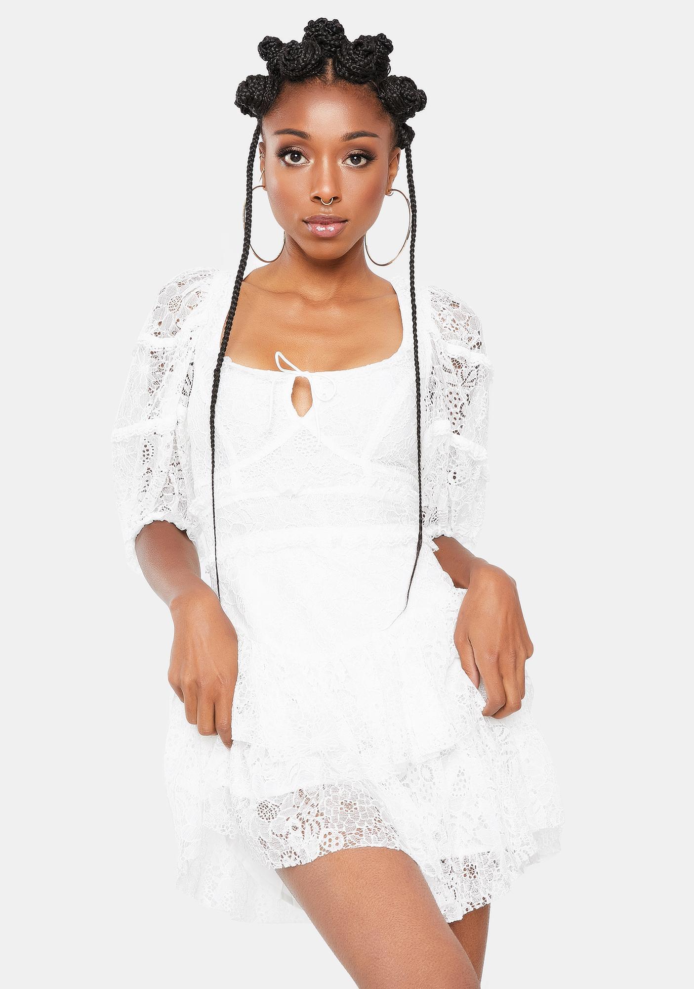 For Love & Lemons Jelena Mini Dress