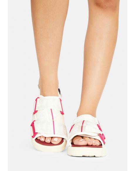 Fuchsia 222 Banda Mitel 2 Sandals