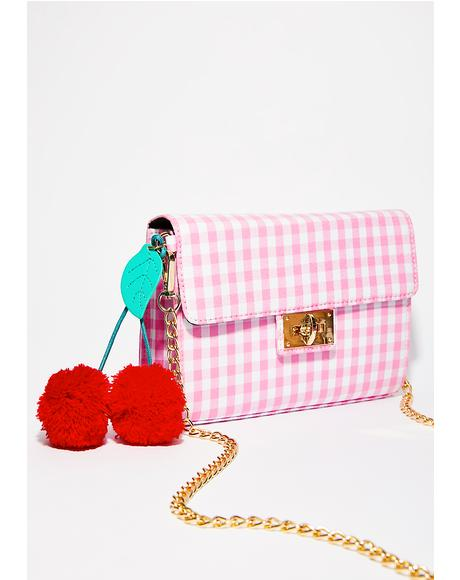 Cherry Picnic Crossbody Bag