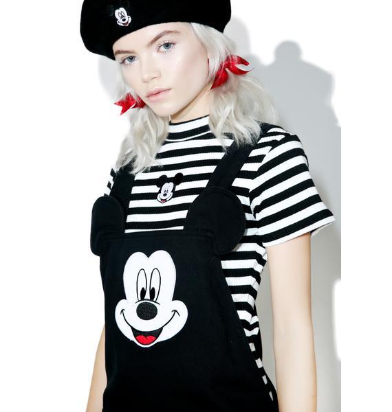 Lazy Oaf X Disney Mickey Mouse Pinafore Dress