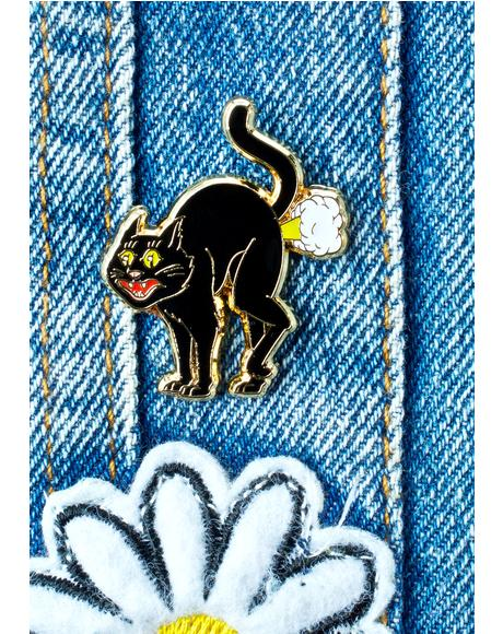 Cat Fart Pin