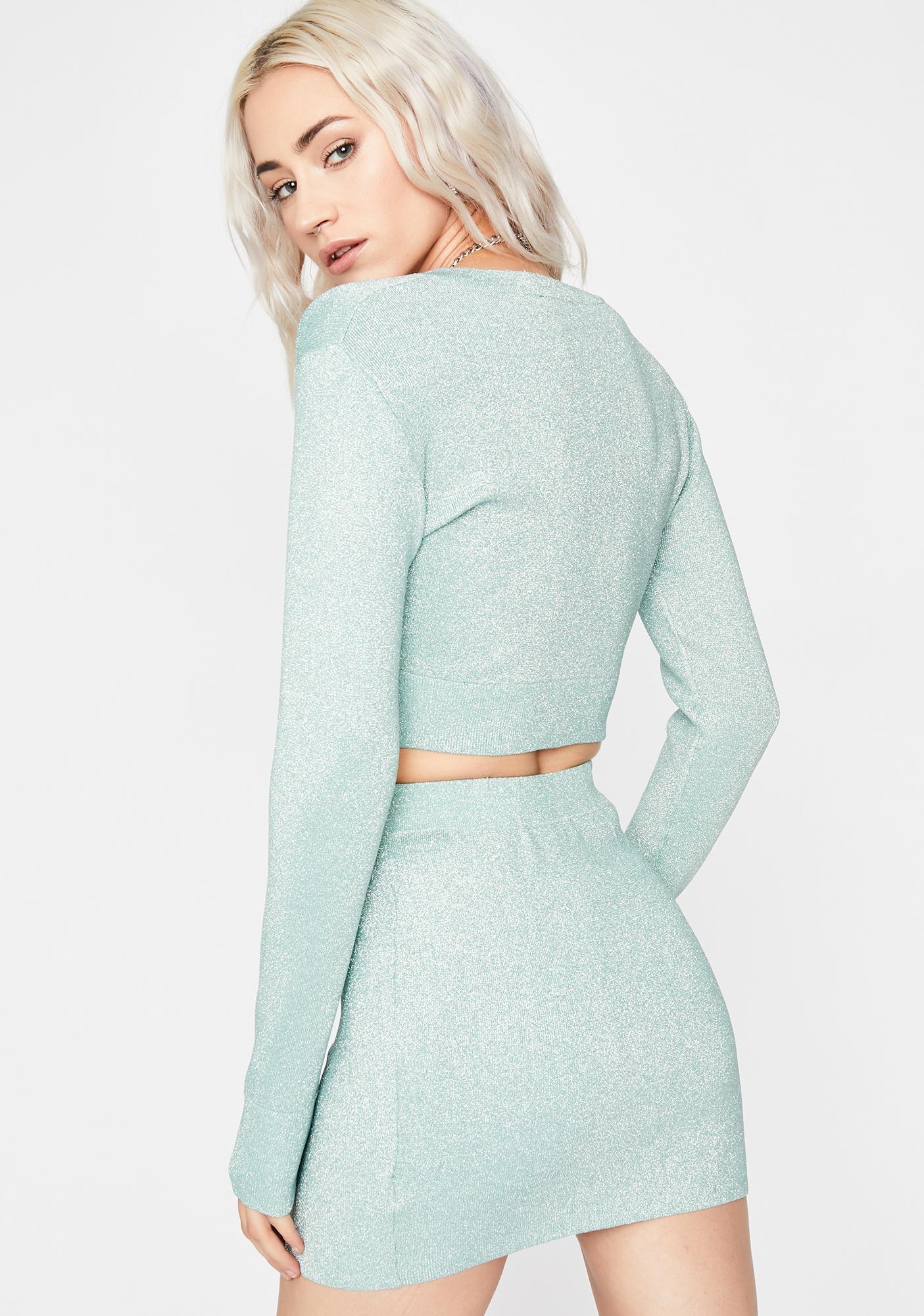 Droppin' Digits Skirt Set