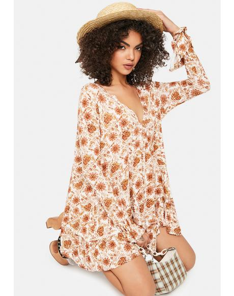 Olivia Floral Tunic