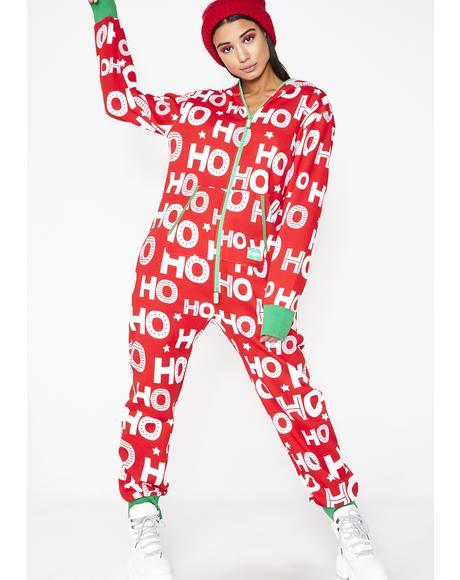 Ho Ho Ho Jumpsuit