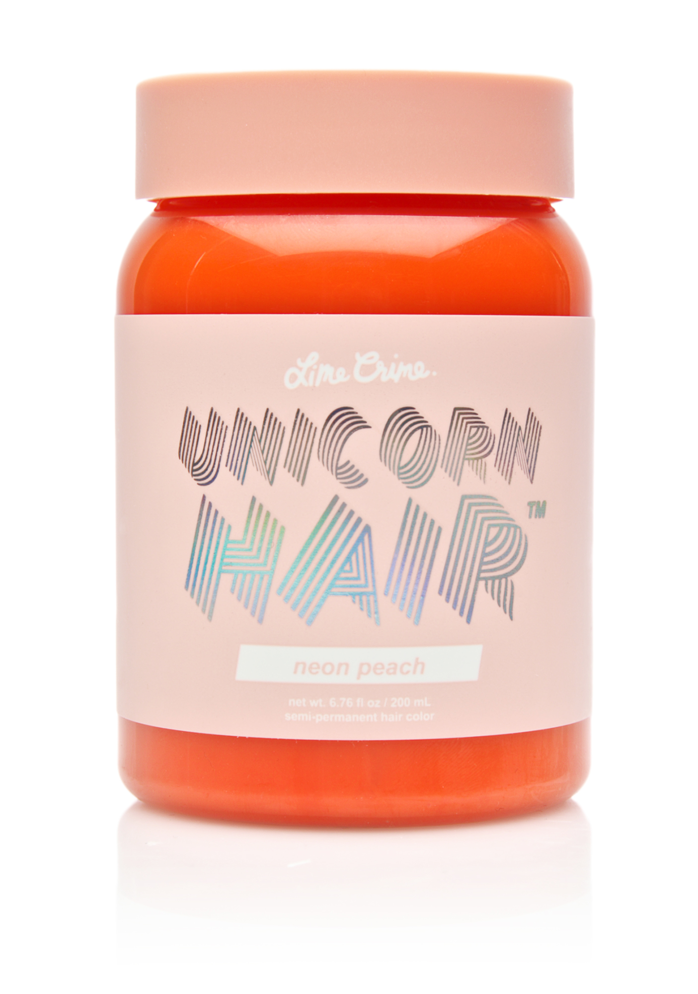 Lime Crime Neon Peach Unicorn Hair Dye