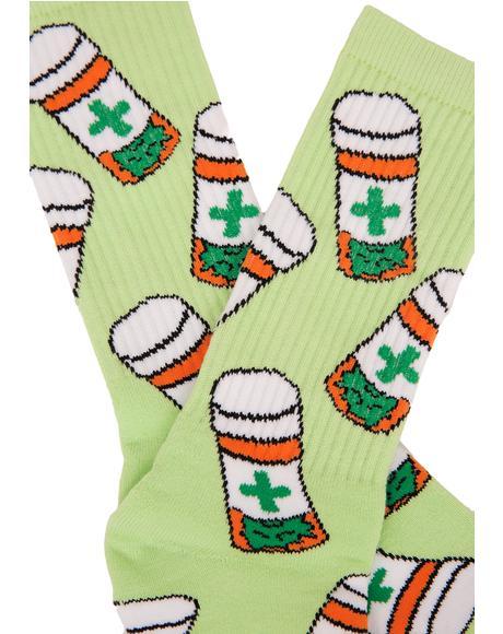 Cannabis Club Socks