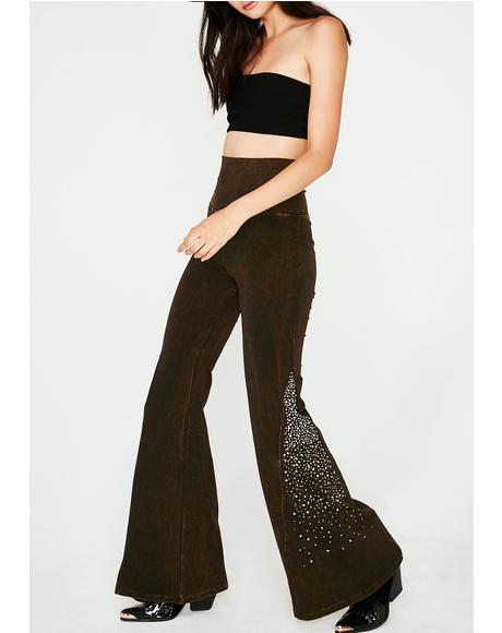 Rhinestone Cowgirl Bell Bottoms