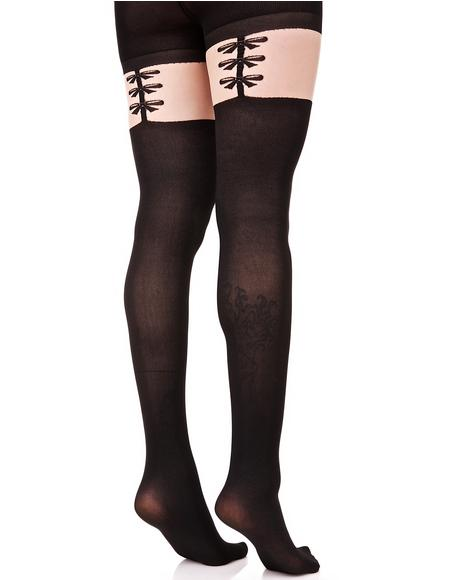 Sweet Treat Garter Stockings