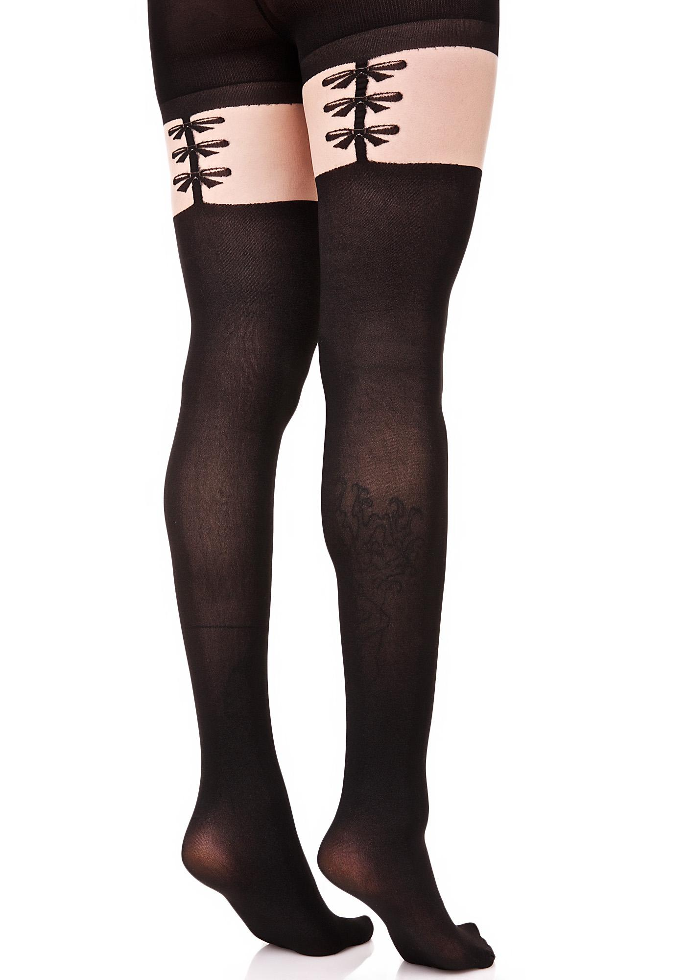 Sweet Treat Garter Stockings