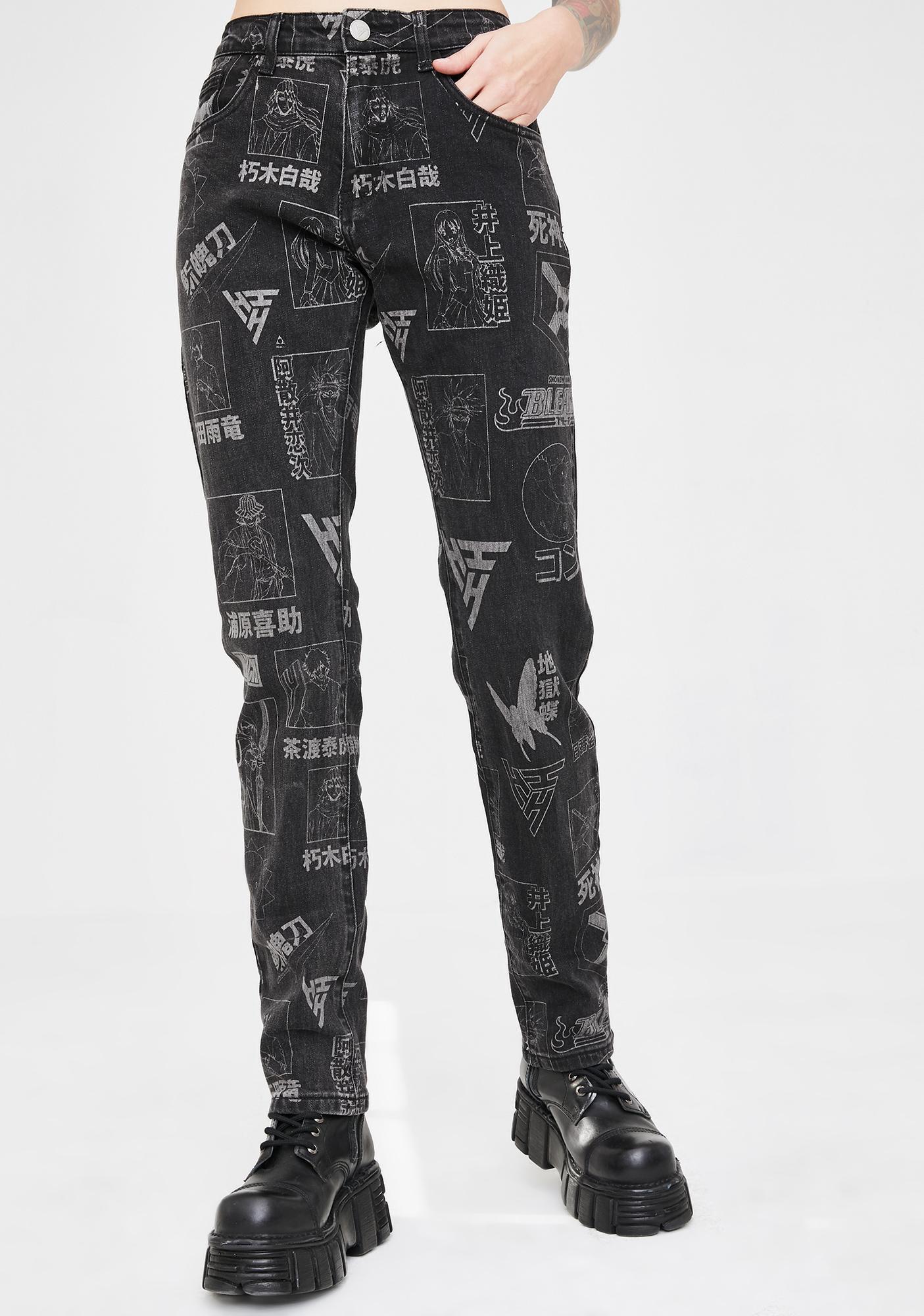 HYPLAND X Bleach Denim Characters Jeans