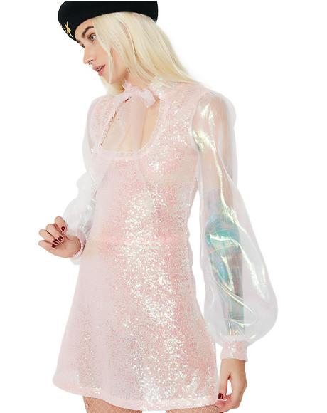 Lovin' Spoonful Sequin Mini Dress