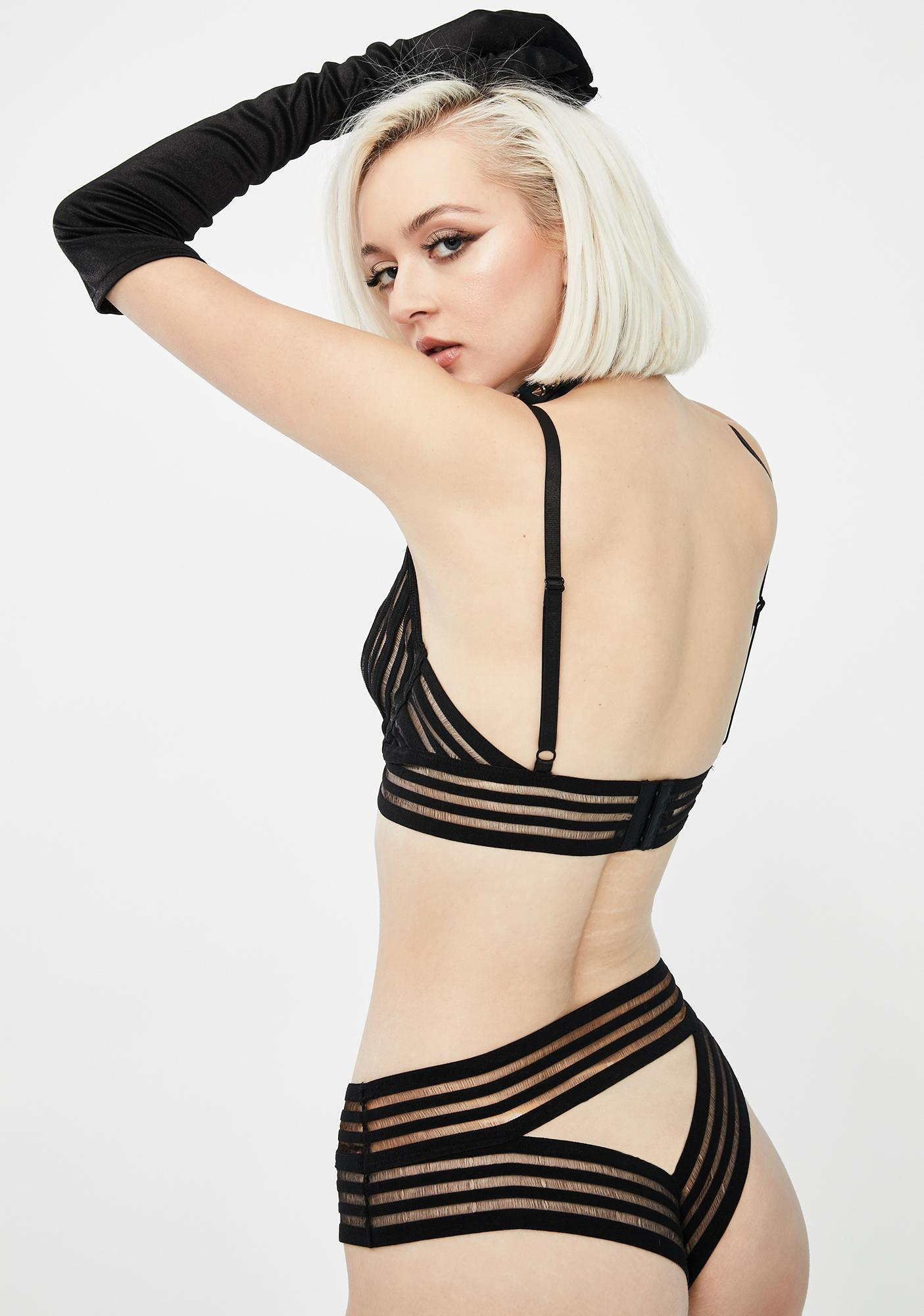 Made For Midnight Striped Set