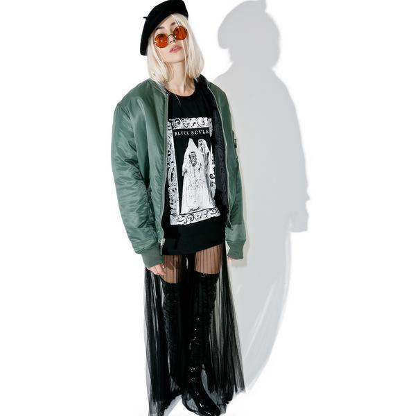 Black Scale Lady Of The House T-Shirt