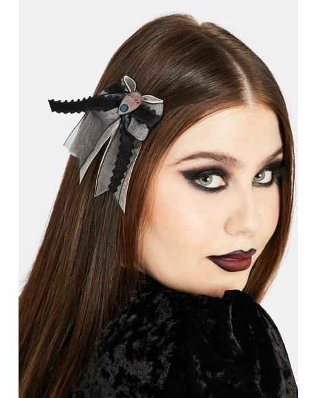 Ouija Hair Bow