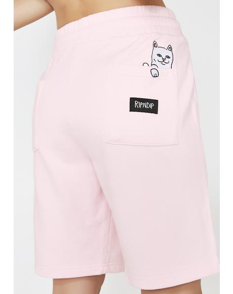Gumdrop Peek A Nermal Sweat Shorts