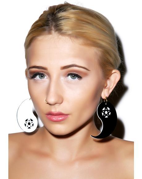 Ying to My Yang Earrings