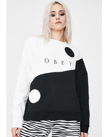 Darkside Crew Graphic Sweatshirt