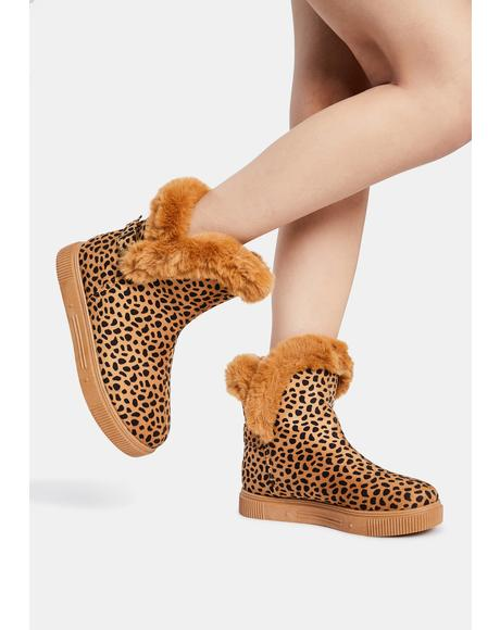 Kitty Make Me Like You Faux Fur Boots