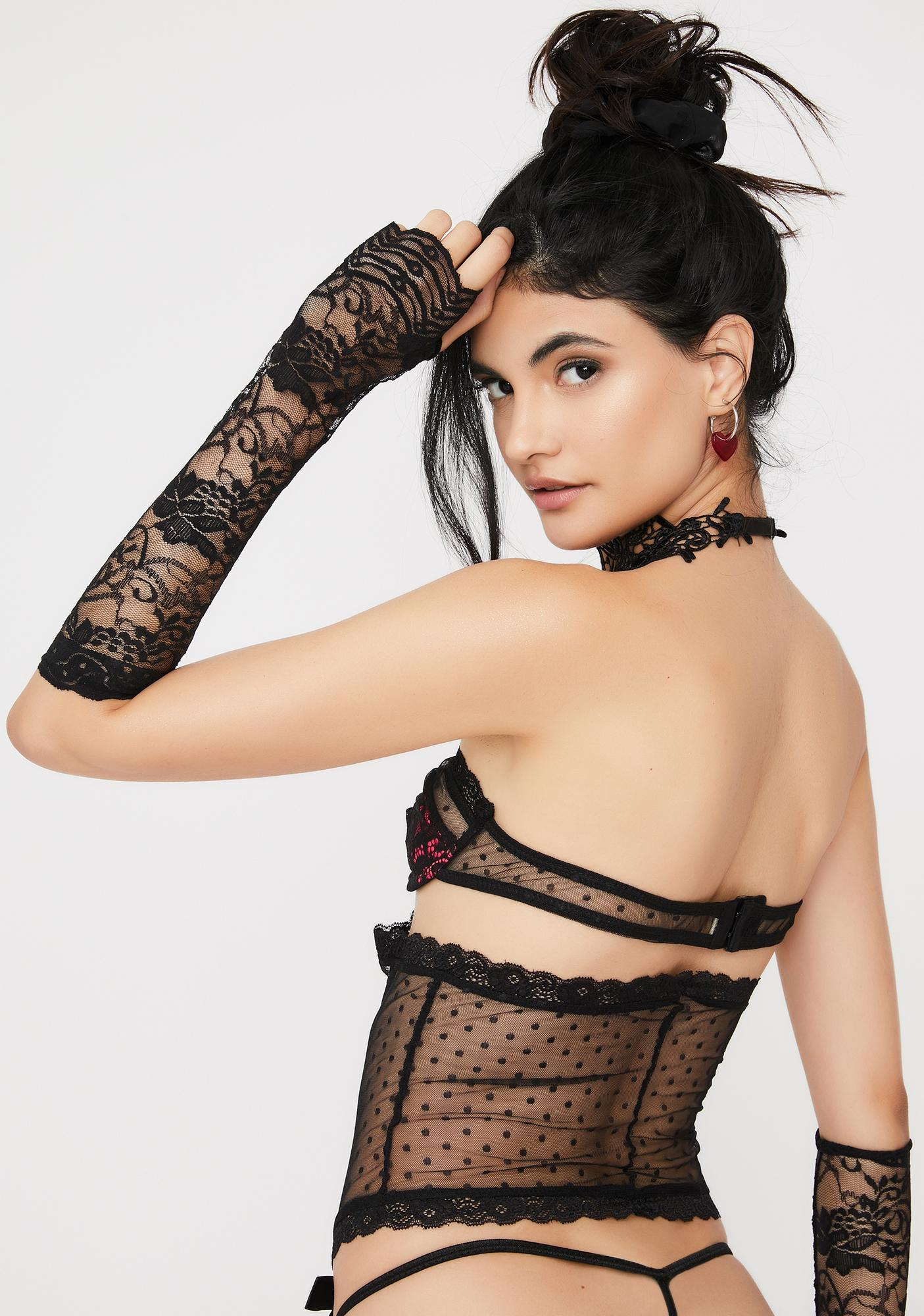 Roma Midnight Affair Lace Set