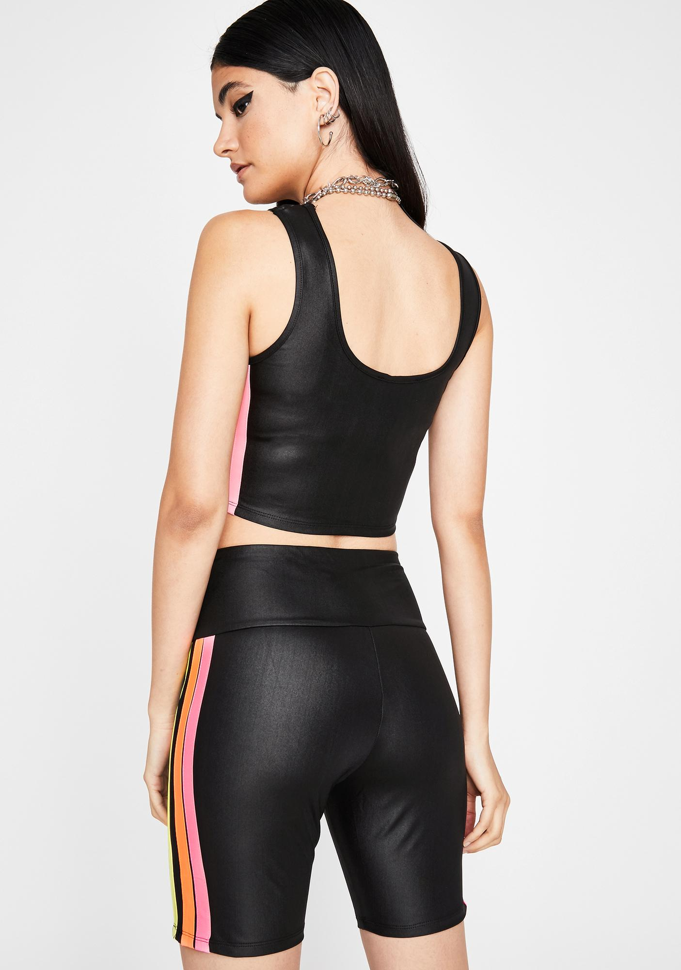 Trailblazin' Bish Shorts Set