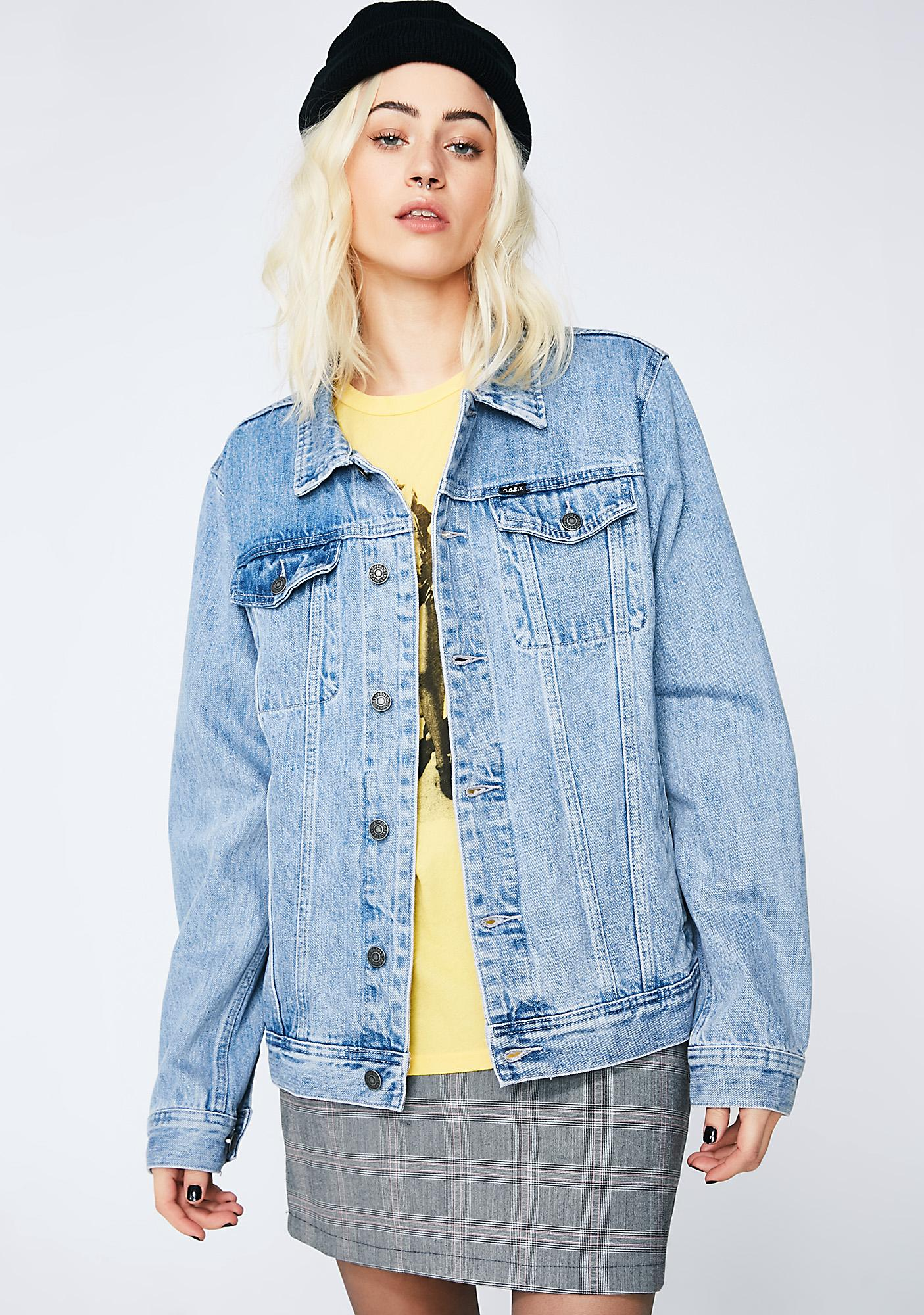 Obey Vicious Denim Jacket