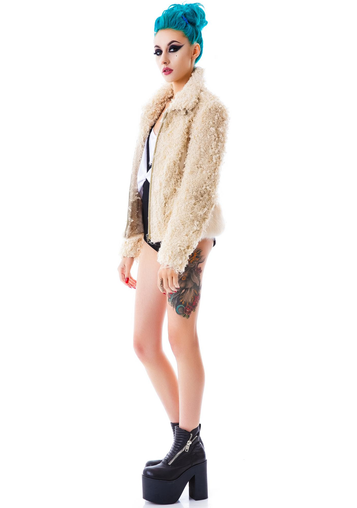 The Teddy Faux Fur Jacket