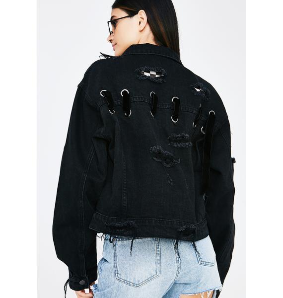 Under The Influence Denim Jacket