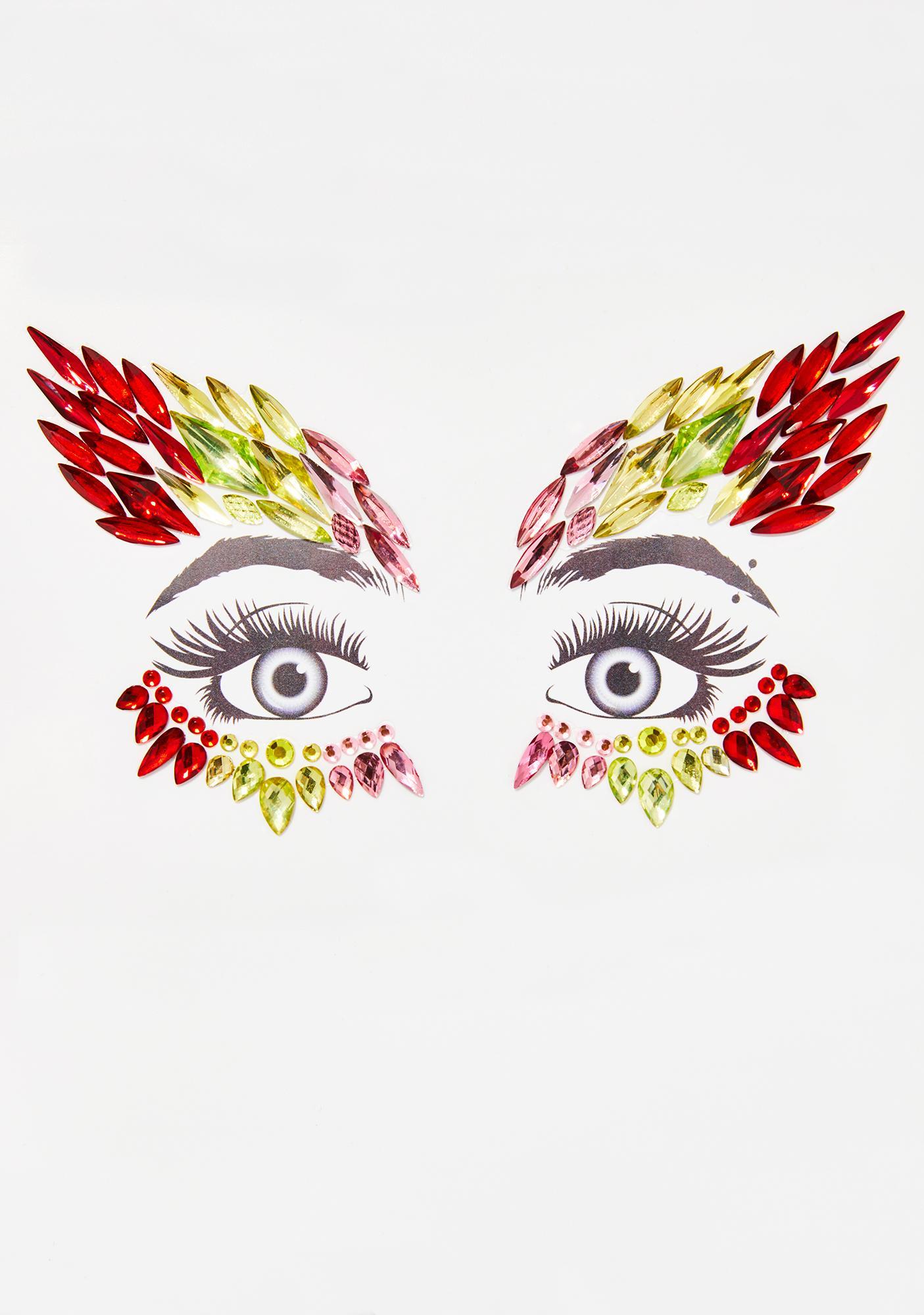 Fly Girl Face Gems
