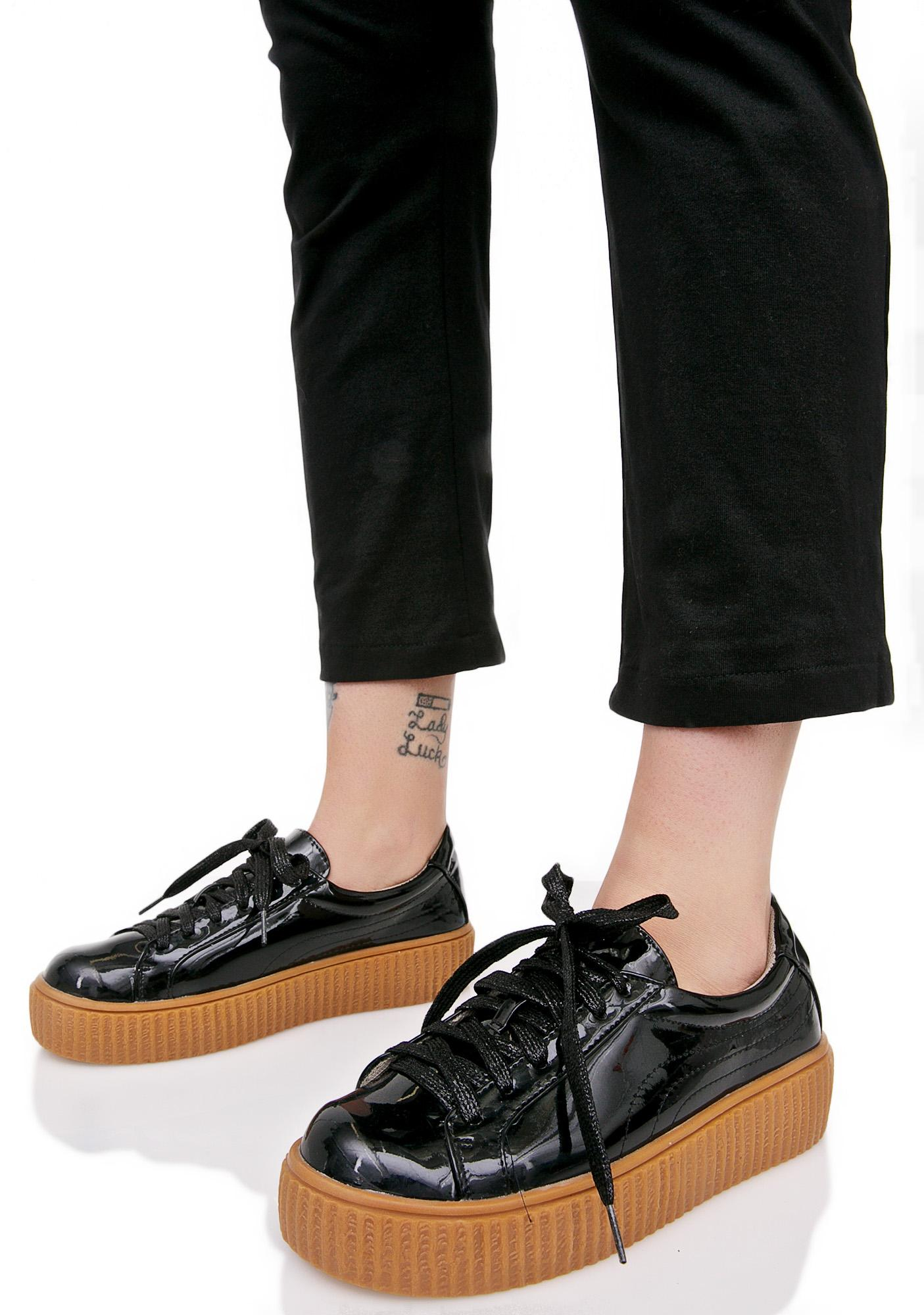 Kyoto Creeper-Soled Sneakers