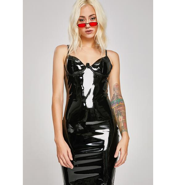 Dark Fetish Vinyl Dress