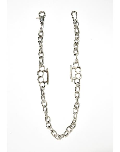Talk The Talk Chain Necklace