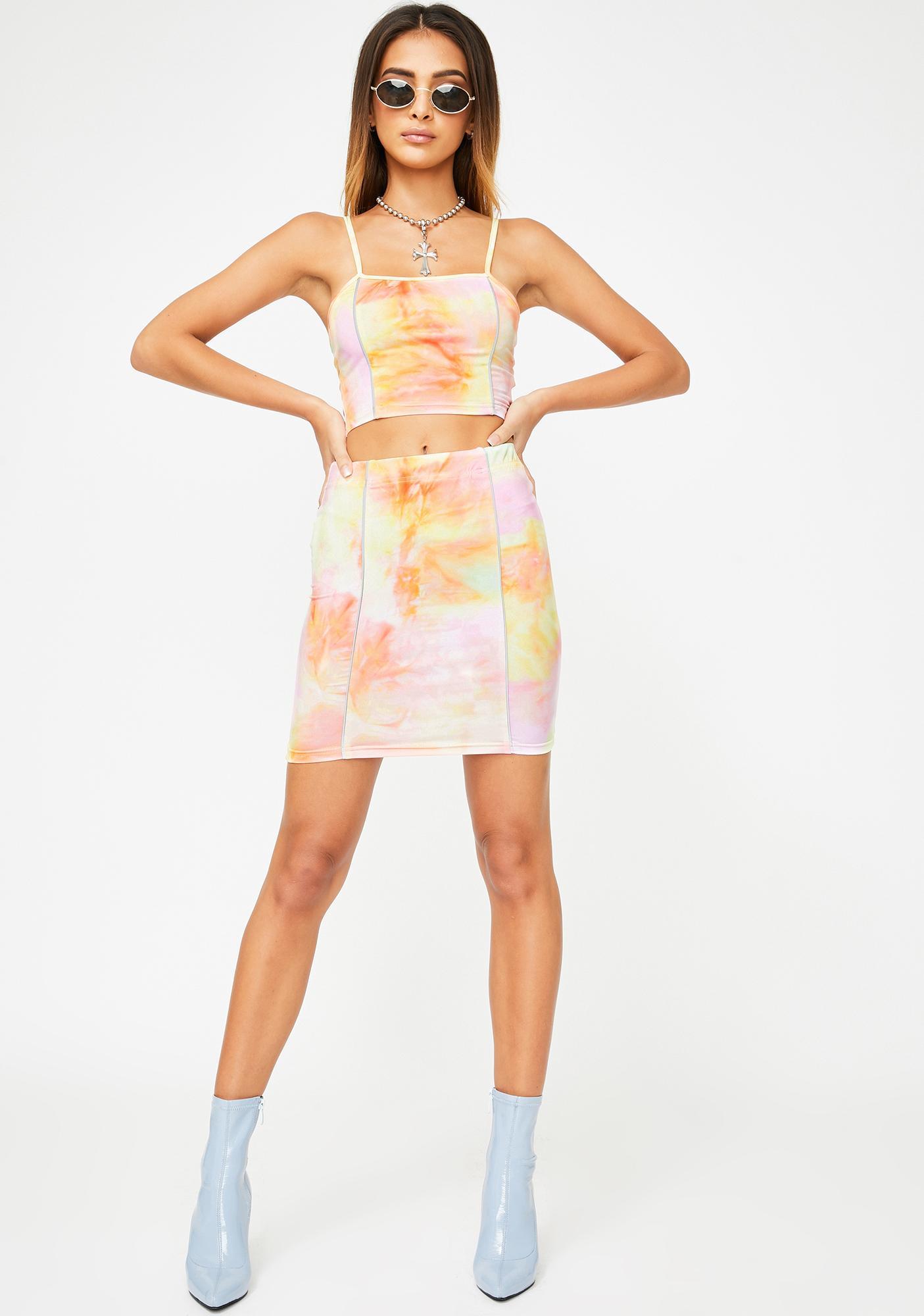 Candy Bloom Skirt Set by Zemeta