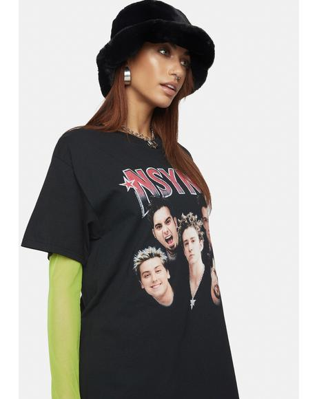 NSYNC Group Shot Graphic Tee