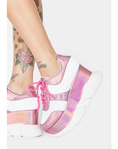 Pixie BBcakes Club Platform Sneakers
