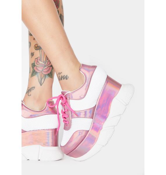 Pixie BBcakes Club Platform Sneakers