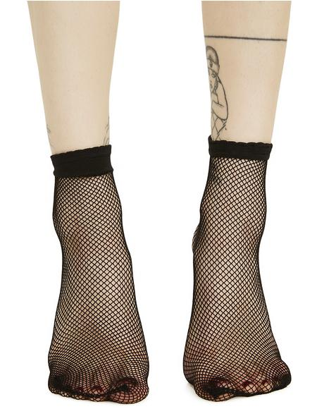 Slacker Fishnet Socks