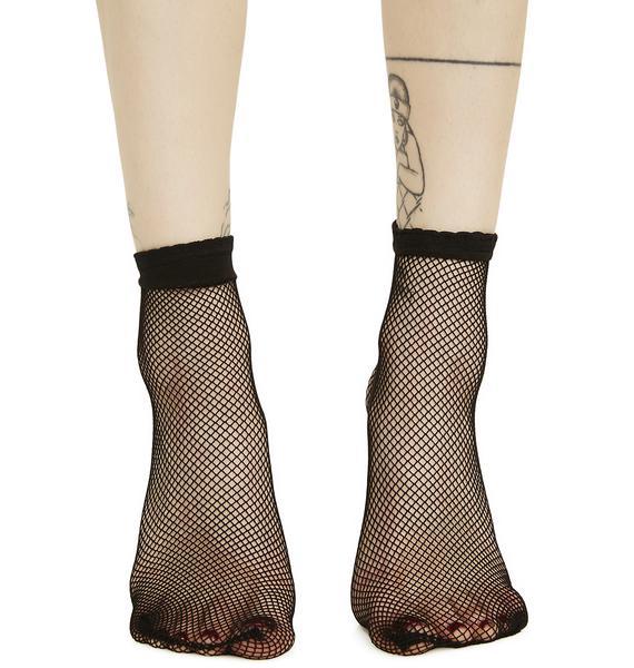 Slacker Fishnet Socks