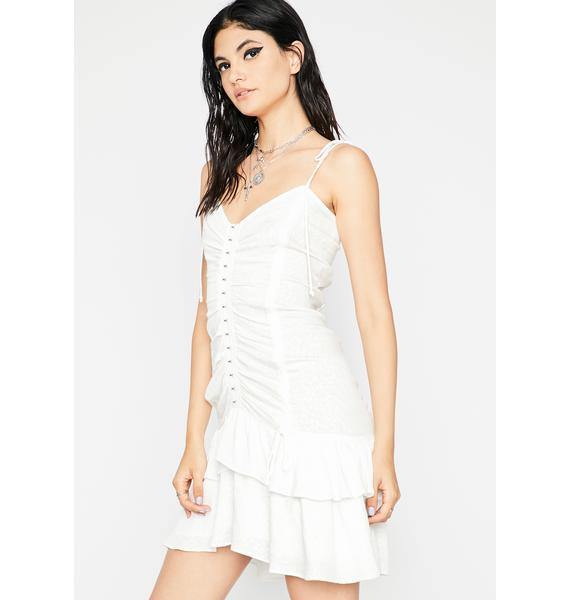 Call Me Bae Jacquard Dress