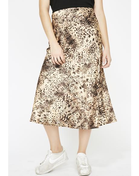 Primal Instincts Leopard Skirt