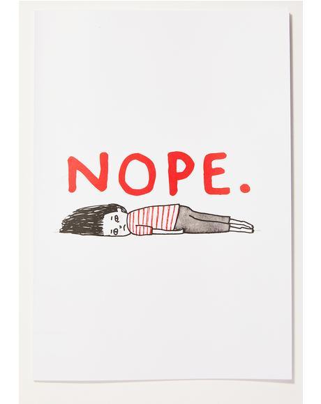 Nope Notebook