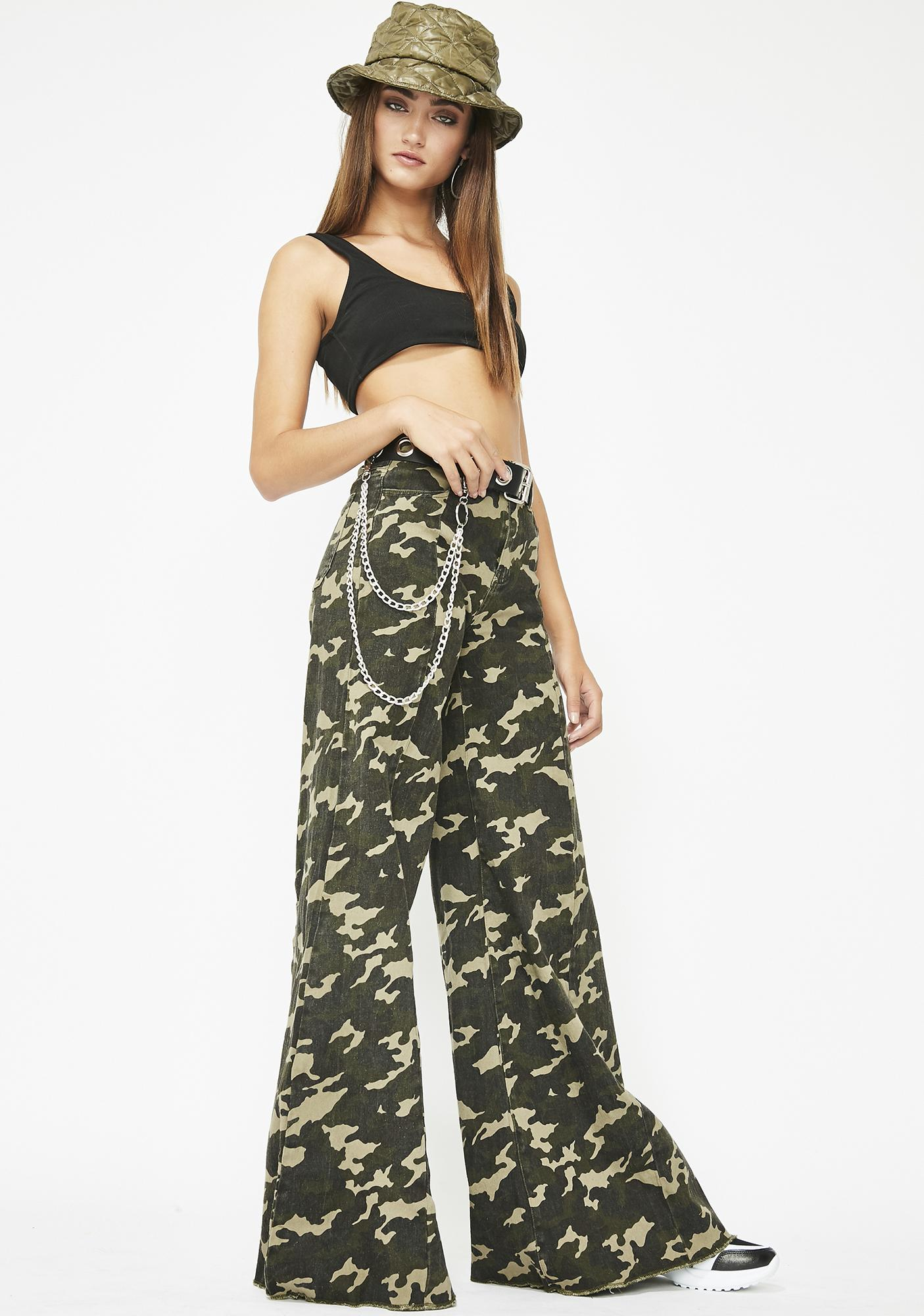 Too Much Sass Camo Pants