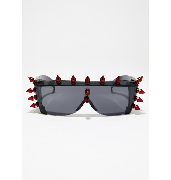 Blood Fury Shield Sunglasses
