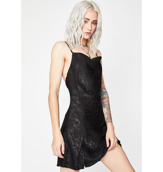 Mood Is Right Slip Dress