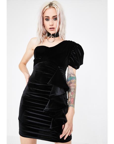 Diva Doll Velvet Dress