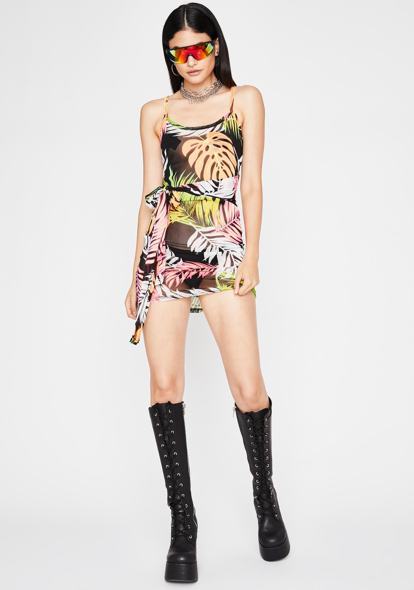 Beachside Baddie Sheer Dress