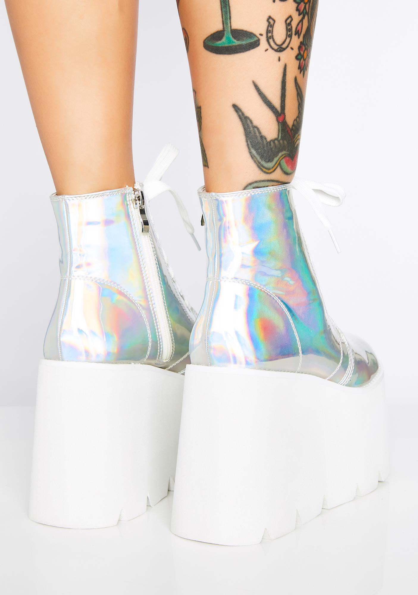 Comet Crash Platform Boots