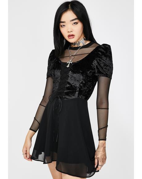None Undone Babydoll Dress