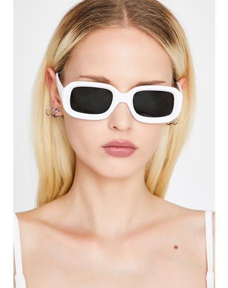 Icy Made Ya Look Square Sunglasses